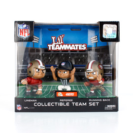 San Francisco 49ers Lil' Teammates Team Set