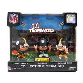 Pittsburgh Steelers Lil' Teammates Team Set