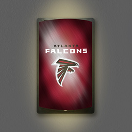 Atlanta Falcons MotiGlow Light Up Sign