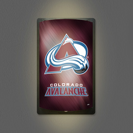 Colorado Avalanche MotiGlow Light Up Sign