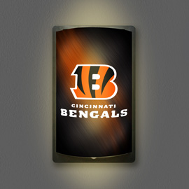 Cincinnati Bengals MotiGlow Light Up Sign