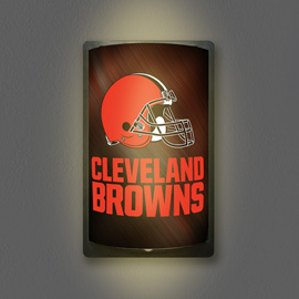 Cleveland Browns MotiGlow Light Up Sign