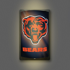 Chicago Bears MotiGlow Light Up Sign