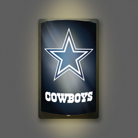 Dallas Cowboys MotiGlow Light Up Sign