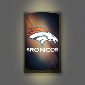 Denver Broncos MotiGlow Light Up Sign
