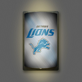Detroit Lions MotiGlow Light Up Sign