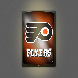 Philadelphia Flyers MotiGlow Light Up Sign
