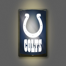Indianapolis Colts MotiGlow Light Up Sign