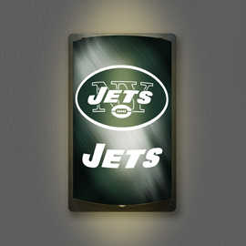 New York Jets MotiGlow Light Up Sign