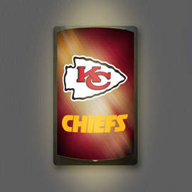 Kansas City Chiefs MotiGlow Light Up Sign