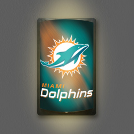Miami Dolphins MotiGlow Light Up Sign