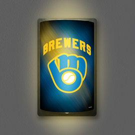 Milwaukee Brewers MotiGlow Shade Only