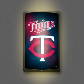 Minnesota Twins MotiGlow Light Up Sign