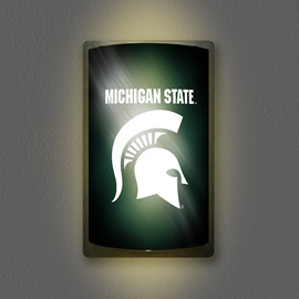 Michigan State Spartans MotiGlow Light Up Sign