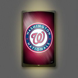 Washington Nationals MotiGlow Light Up Sign