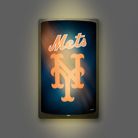 New York Mets MotiGlow Light Up Sign
