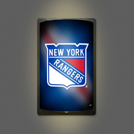New York Rangers MotiGlow Light Up Sign