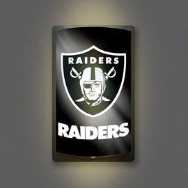 Oakland Raiders MotiGlow Light Up Sign