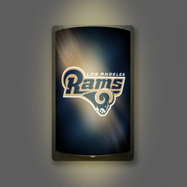 Los Angeles Rams MotiGlow Light Up Sign