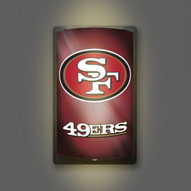 San Francisco 49ers MotiGlow Light Up Sign