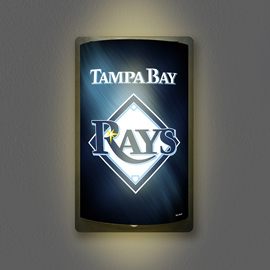 Tampa Bay Rays MotiGlow Light Up Sign