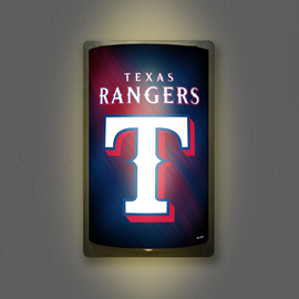 Texas Rangers MotiGlow Light Up Sign