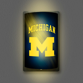 Michigan Wolverines MotiGlow Light Up Sign
