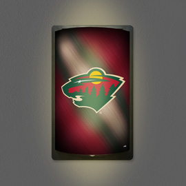 Minnesota Wild MotiGlow Light Up Sign