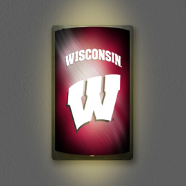 Wisconsin Badgers MotiGlow Light Up Sign