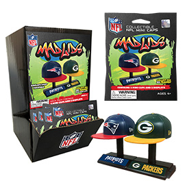 Mad Lids NFL Series 1 Gravity Feed