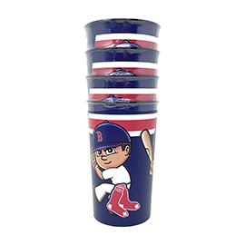 Boston Red Sox Party Cup 4 Pack