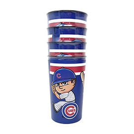 Chicago Cubs Party Cup 4 Pack