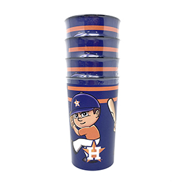 Houston Astros Party Cup 4 Pack