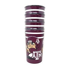 Texas A&M Party Cup 4 Pack