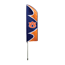 Auburn Tigers Swooper Flag Kit with Pole