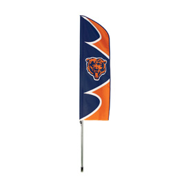 Chicago Bears Swooper Flag Kit with Pole