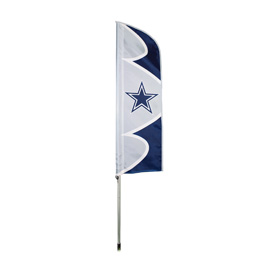Dallas Cowboys Swooper Flag Kit with Pole