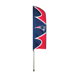 New England Patriots Swooper Flag Kit with Pole
