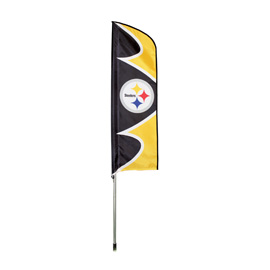Pittsburgh Steelers Swooper Flag Kit with Pole