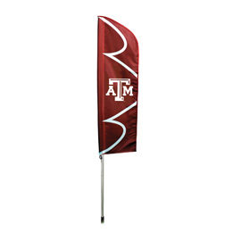 Texas A&M Swooper Flag Kit with Pole