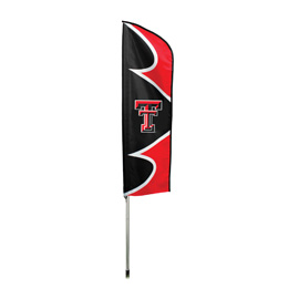 Texas Tech Red Raiders Swooper Flag Kit with Pole