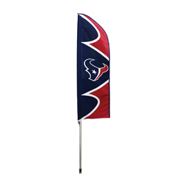 Houston Texans Swooper Flag Kit with Pole