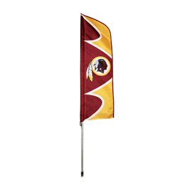 Washington Redskins Swooper Flag Kit with Pole