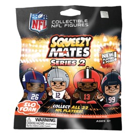 SqueezyMates Blind Pack - NFL SERIES 2
