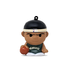 Milwaukee Bucks SqueezyMates Figure