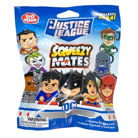 SqueezyMates Blind Pack - Justice League