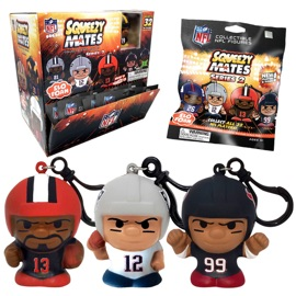 SqueezyMates NFL Series 2 Gravity Feed Display