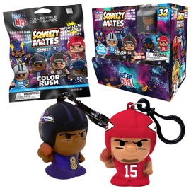 SqueezyMates NFL Series 3 Gravity Feed Display