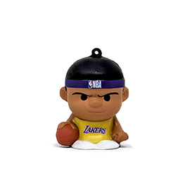 Los Angeles Lakers SqueezyMates Figure