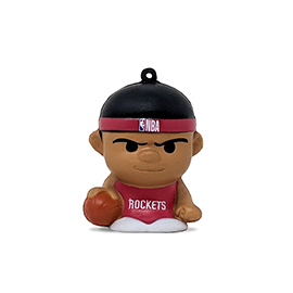 Houston Rockets SqueezyMates Figure